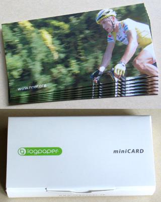 logpaper - minicard
