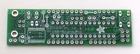 USB Boarduino PCB