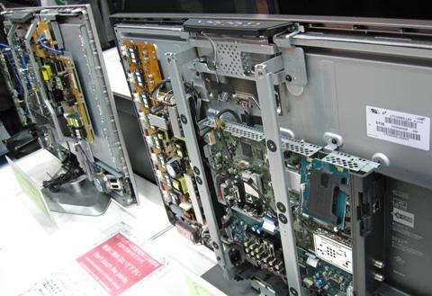 SONY対Panasonic テレビの内側対決